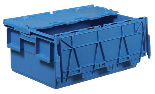Attached Lid Container 1310.851 Ext: 600 x 400 x 250 mm