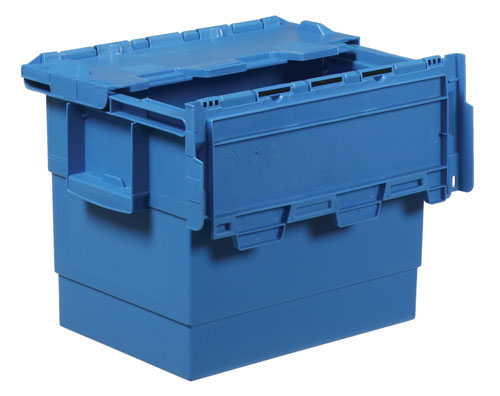 Attached Lid Container Integra 1325.851 Ext: 400 x 300 x 300 mm