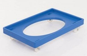 Plastic Dolly Ref: R1210  Plastic Dolly to suit all Bakery Trays