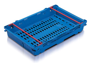 Produce Tray DH641002  Ext dims: L600 x W400 x H106 mm