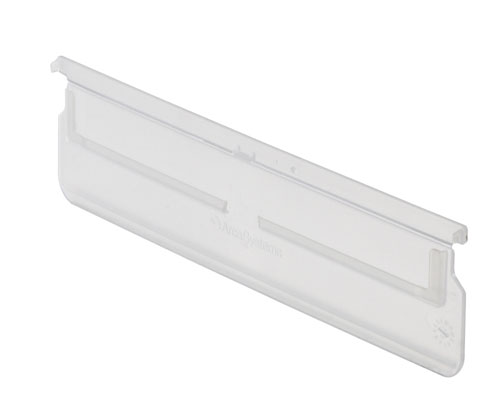 Arca Shelf Tray Transparent Divider 9143.760 Size: 230 mm Pack size: 8