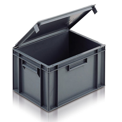 Attached Lid Euro Range Boxes