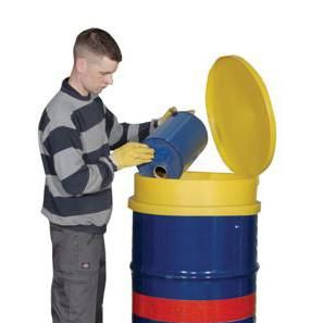 Drum Funnel with Lid - DF1