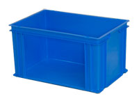 Stacking Containers with Open Sides